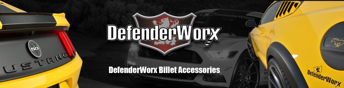 DefenderWorx Billet Accessories