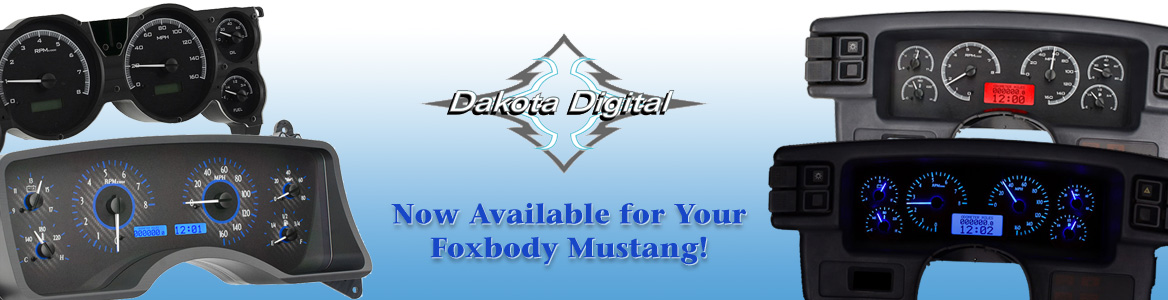 Dakota Digital - Now Available & In-Stock for your Foxbody Mustang