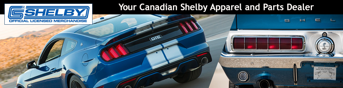 Your Canadian Shelby Apparel and Parts Dealer