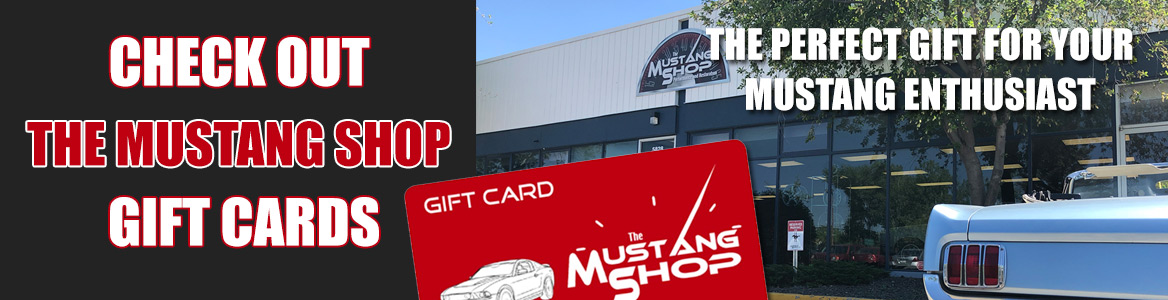 Check out The Mustang Shop Gift Cards - The Perfect Gift for Your Mustang Enthusiast
