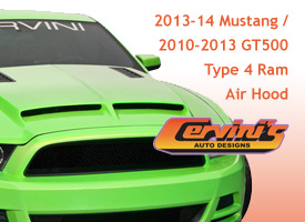 Cervinis - 2013-14 / 2010-2013 GT500 Type 4 Ram Air Hood