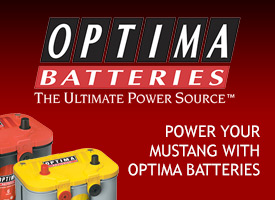 Power Your Mustang with Optima Batteries